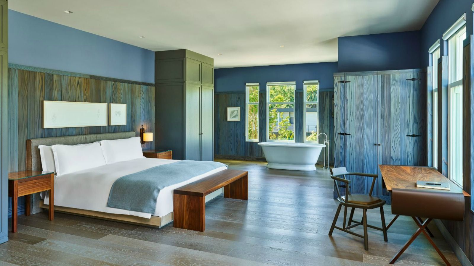 Junior Suite with Deck accommodations at Las Alcobas, A Luxury Collection Hotel, Napa Valley