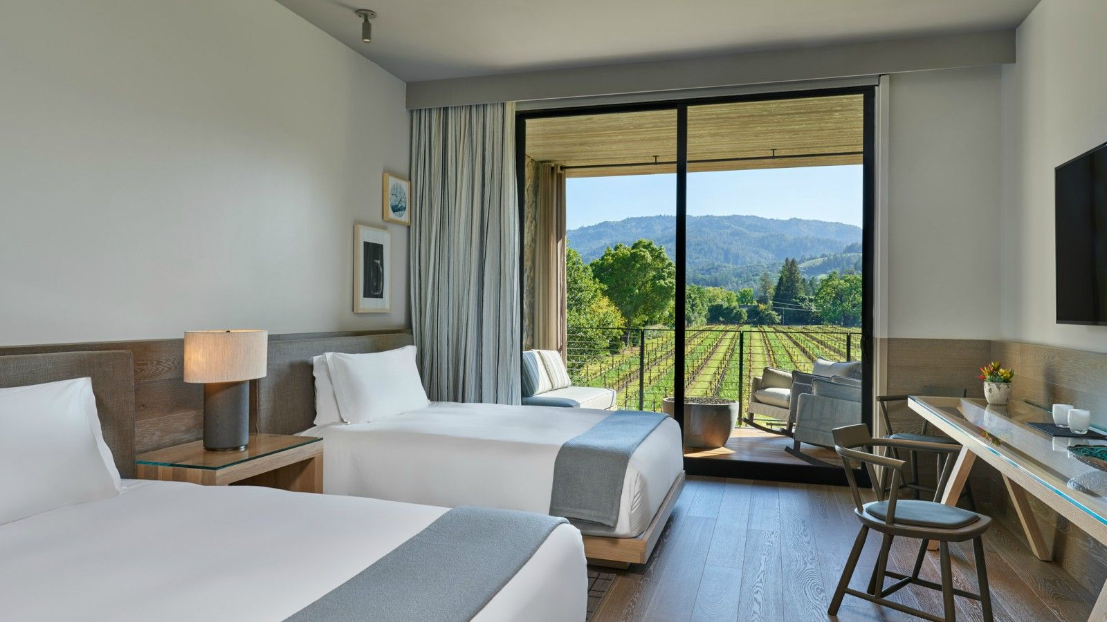 Las Alcobas, a Luxury Collection Hotel, Napa Valley - Grand Deluxe Queens