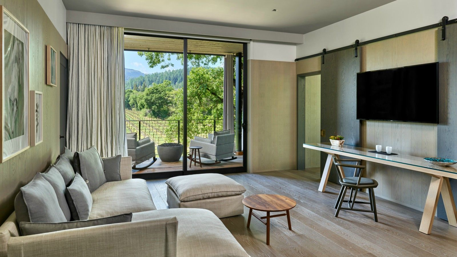 Las Alcobas, a Luxury Collection Hotel, Napa Valley - York Creek Suite - Accessible Deluxe King One Bedroom Suite