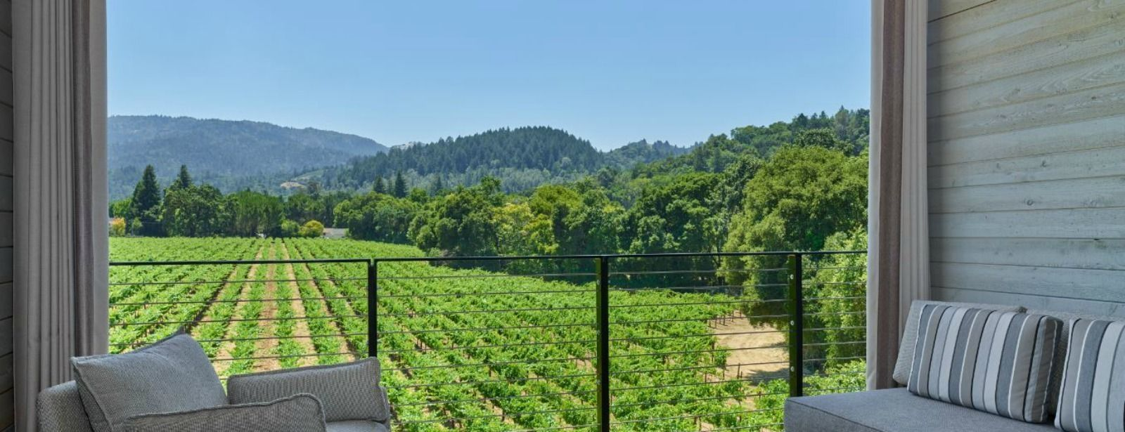 Las Alcobas, a Luxury Collection Hotel, Napa Valley - Deluxe King with Deck - Lower Floor