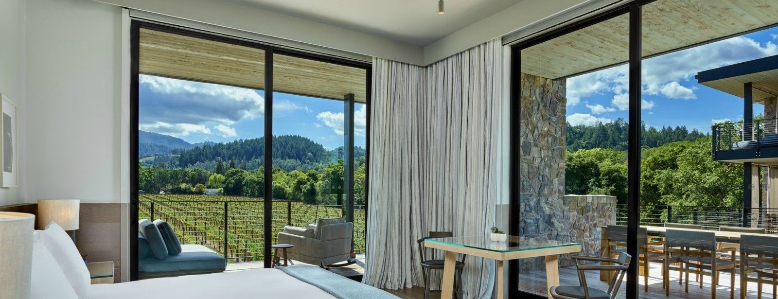 Las Alcobas, a Luxury Collection Hotel, Napa Valley - Junior Suite with Outdoor Living Space